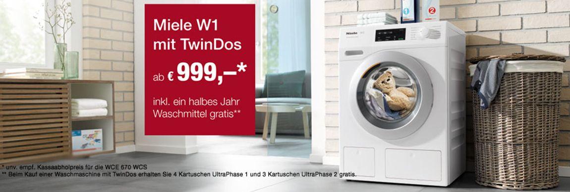 TwinDos - Waschmaschinen und Waschtrockner